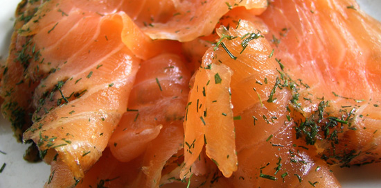 Bradley Cold Smoked Salmon with Dill