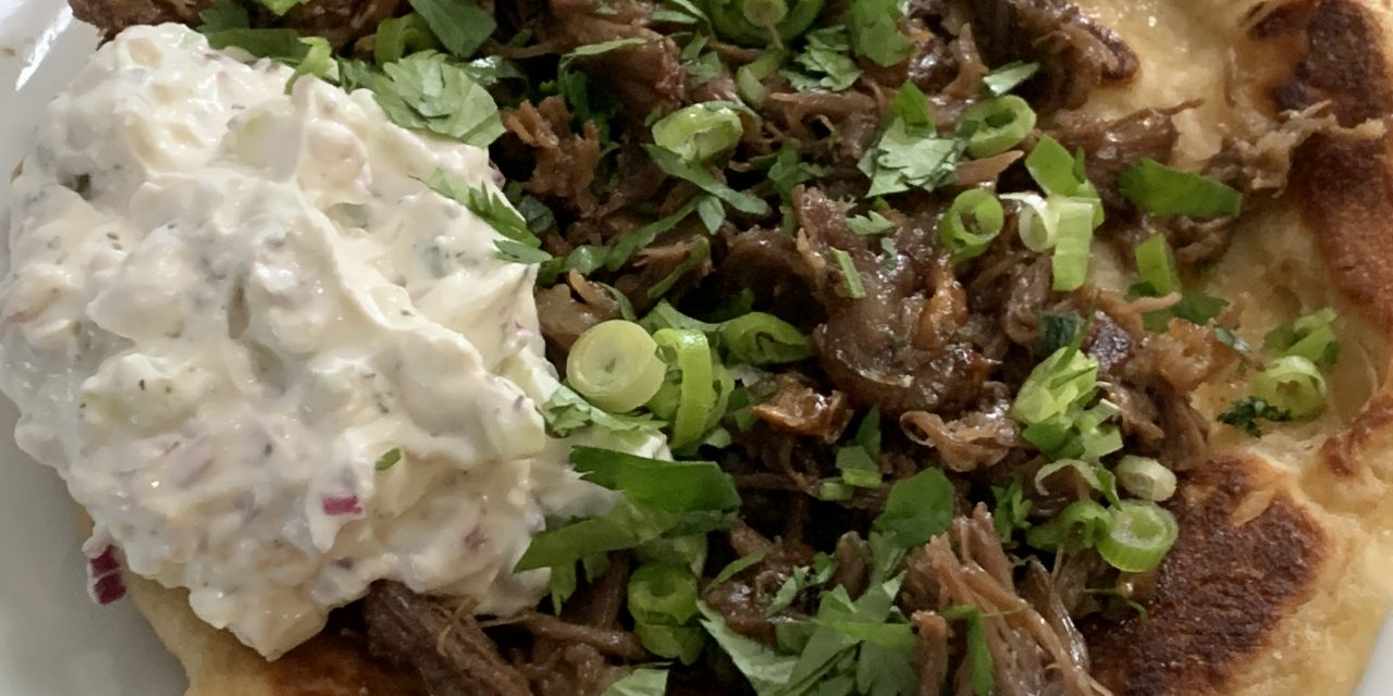 Smoked Pulled Lamb Shoulder