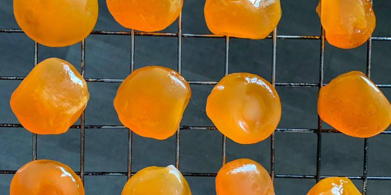 Cured & Smoked Egg Yolks